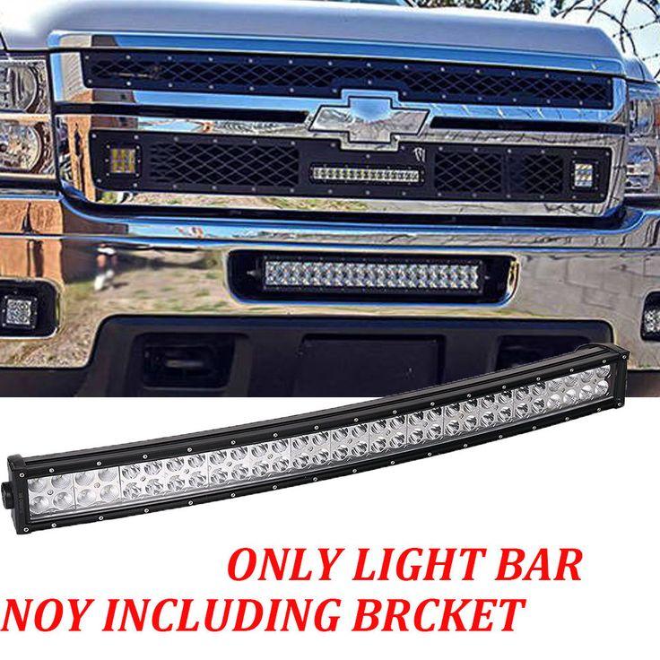 20 LED Light Bar Lower Hidden Bumper for 2011-14 Chevy Silverado 2500/3500HD