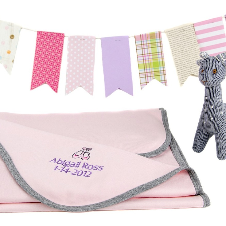Personalize this blanket with color and writing!