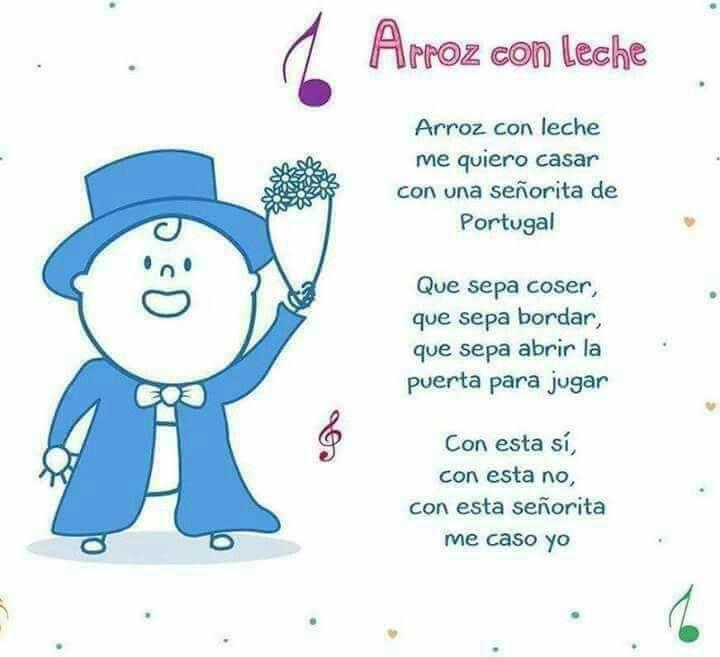 Pin De Rosa Zanelli En Canciones Infantiles Antiguas Letras De