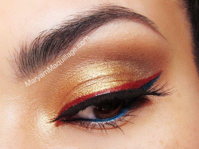 ! Maryam Maquillage !: Golden Goddess Luminess Airbrush Makeup Wonder Woman