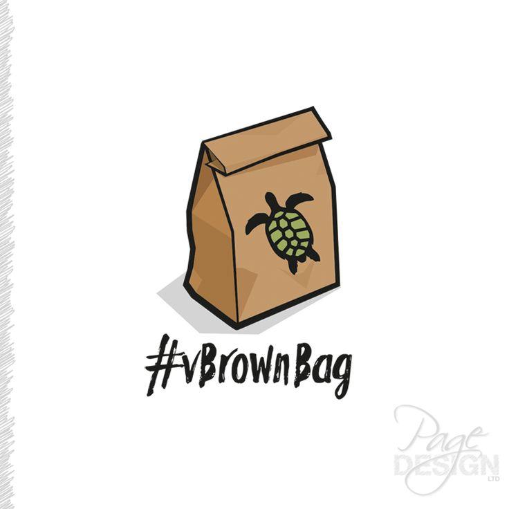 Logo Design for vBrownBag, NZ
