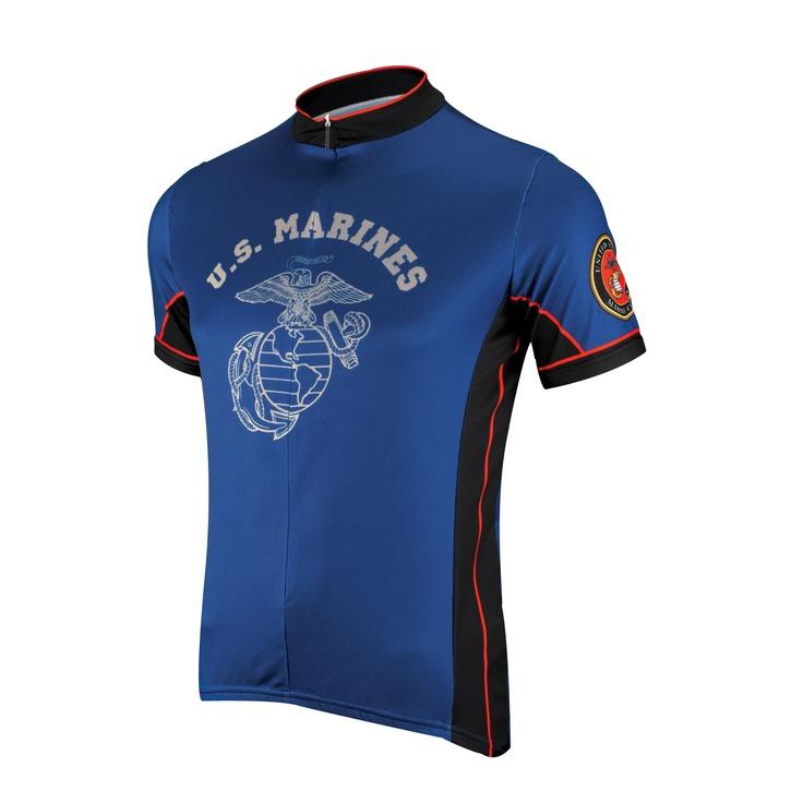 Primal Wear U.S. Marines Dress Blues Short Sleeve Jersey