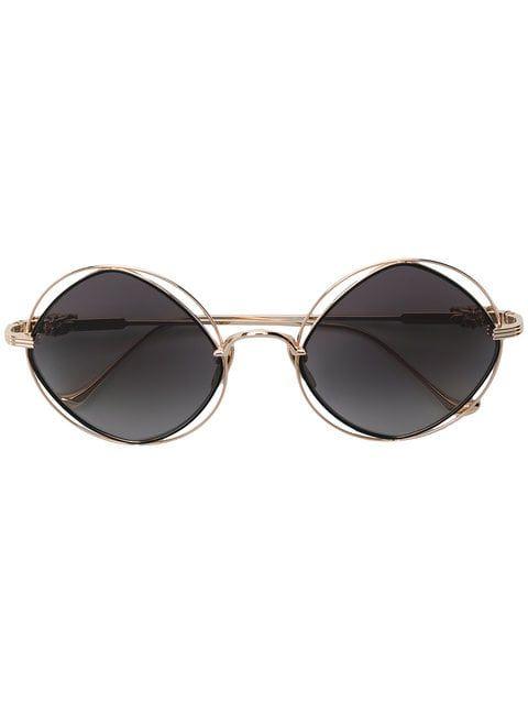 4b63b53904 Chrome Hearts round frame sunglasses Round Frame Sunglasses