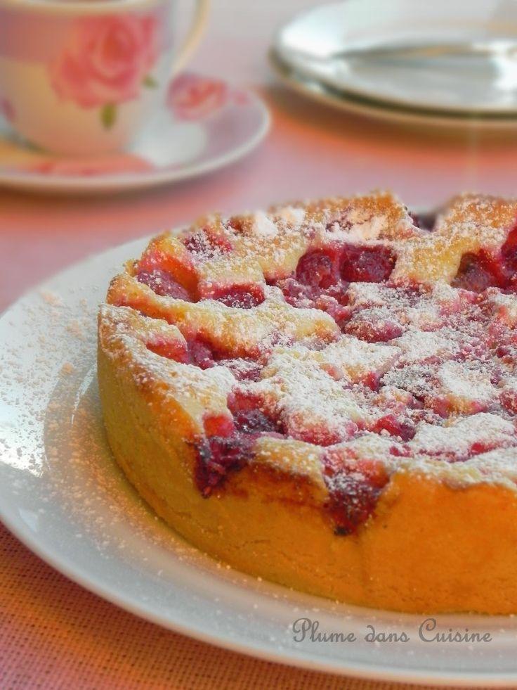 Gâteau-aux-framboises-facile a tester avec de la farine complète