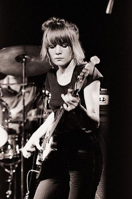Tina Weymouth of Talking Heads