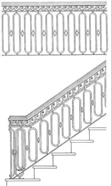 Stair Railing Designs ISR020