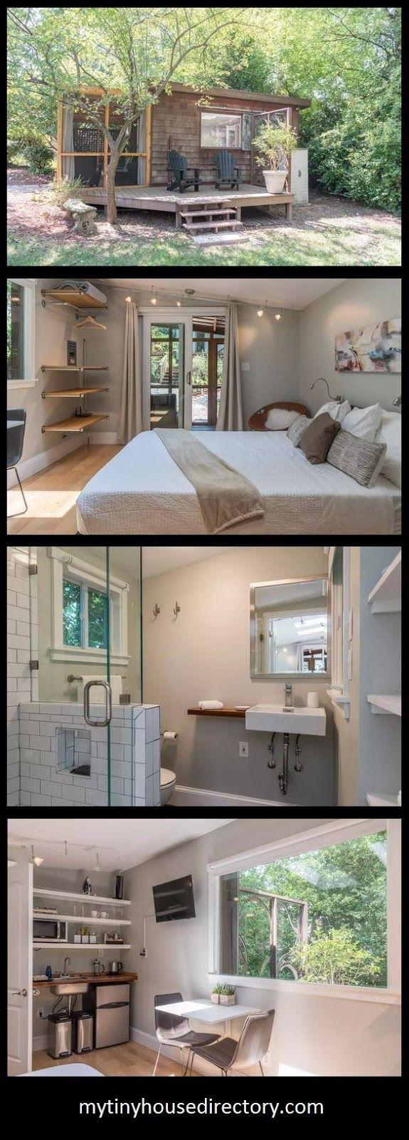 mytinyhousedirectory: Tiny Urban Cottage Vacation Rental
