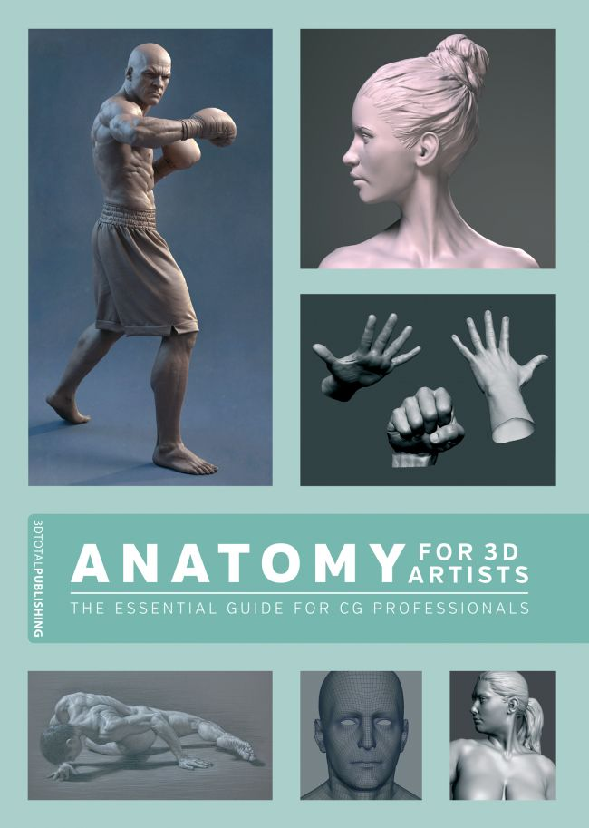 Lightwave Box: 'ANATOMY FOR 3D ARTISTS' BOOK