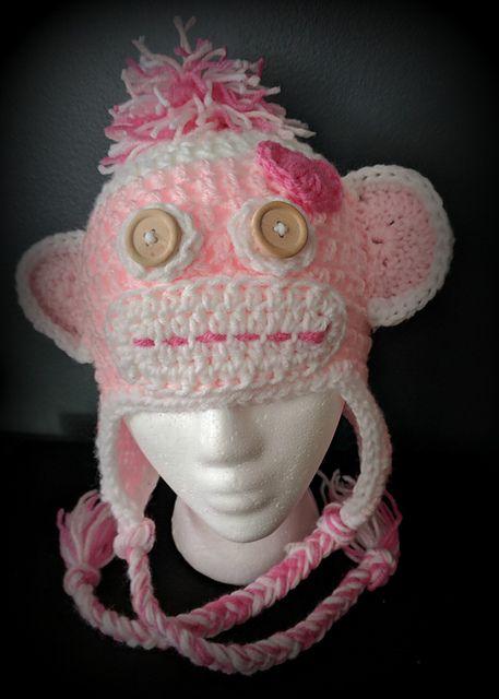 Mejores 180 imágenes de Gorros crochet personajes niñas en Pinterest ...