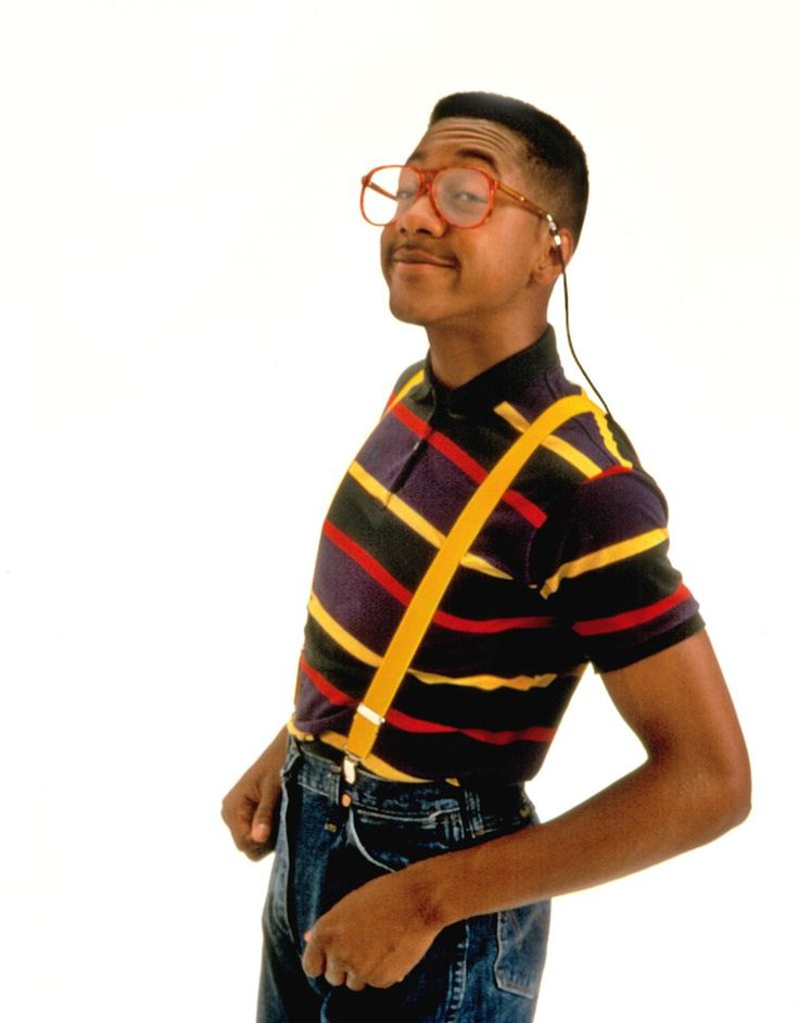 Steve Urkel From Family Matters is a great 90s costume for this Halloween.