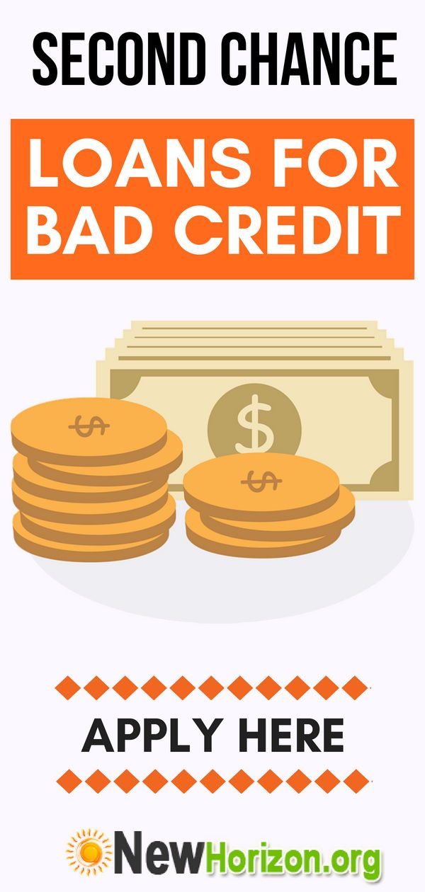 Second Chance Loans For Bad Credit Loans For Bad Credit Bad Credit Loan