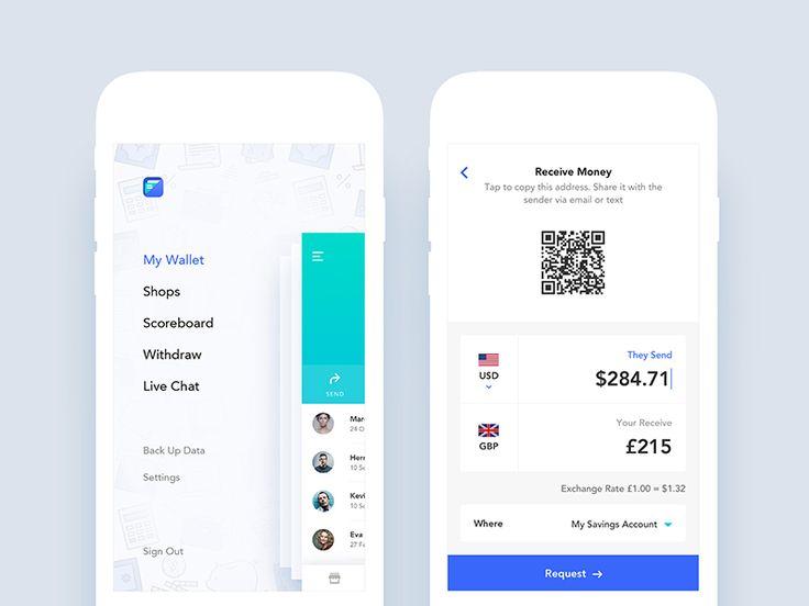 Fonewire App UI Design by Nimasha Perera - Dribbble