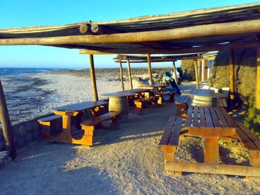 West Coast, Elands bay, Cederberg, Citrusdal    The highlight of this route is most probably the feeling of solitude along a white sandy coastline with a visit to the open air Muisbosskerm Restaurant, where fresh sea food is served right on the edge of the water.