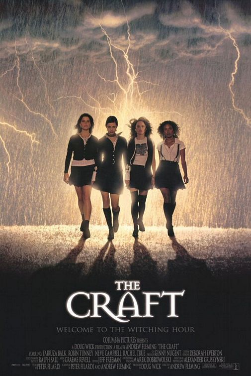 ..2014 halloween movies.. The Craft (1996) ..watched this and Practical Magic like a billion times, and probably a billion more!..