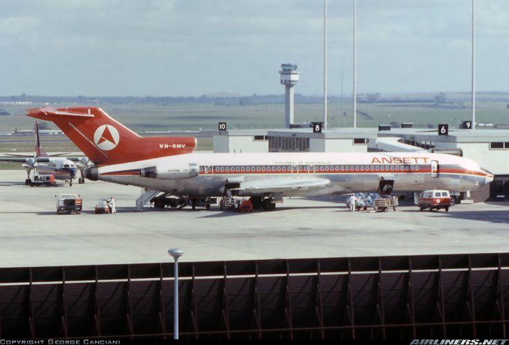 Ansett 727 - Tullamarine 1970's