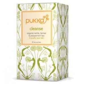 I'd drink this the night before! Pukka Tea: Cleanse also chamomile vanilla is fantastic