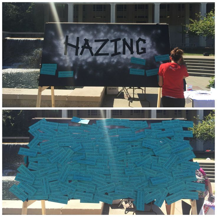 Fraternity and Sorority Programs engagement and collaboration Ex: Hazing Prevention Week 2015