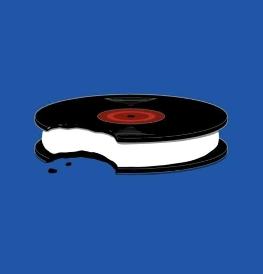 Oreo Vinyl. #records