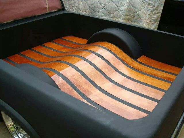 Wood And Metal Bed Floor In A Chev Chevy Chevrolet S10