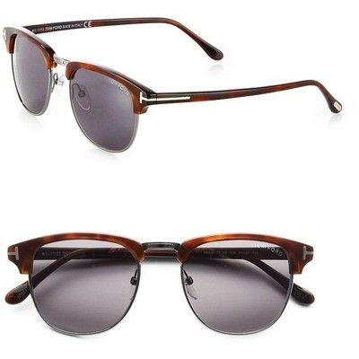 Alessandra Ambrosio style. Tom Ford Eyewear Henry Horn-Rimmed Sunglasses. View this product here http://wheresthatstyle.com/products/12368-tom-ford-eyewear-henry-horn-rimmed-sunglasses