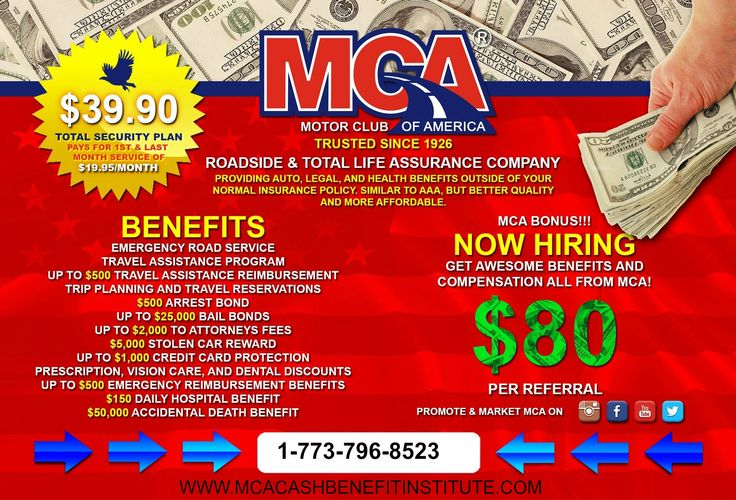 Its that time again that MCA is hiring!! Dont miss this opportunity  www.mcacashbenefitinstitute.com
