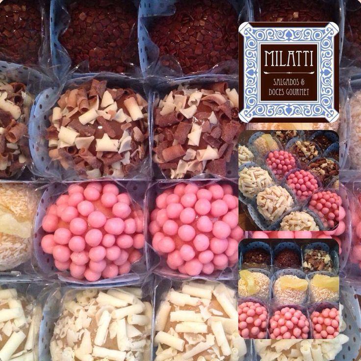Brigadeiro gourmet by Milatti Gourmet