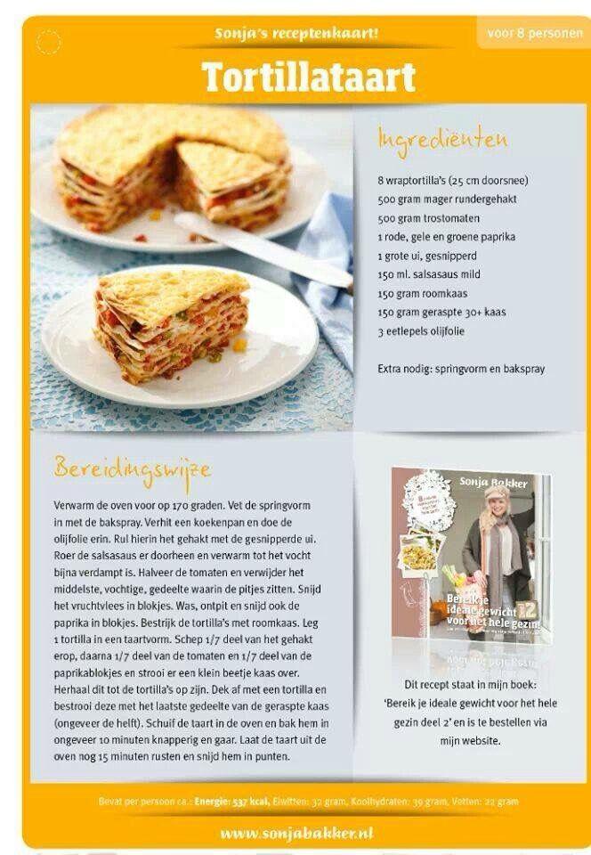 Heerlijke Tortillataart! www.sonjabakker.nl