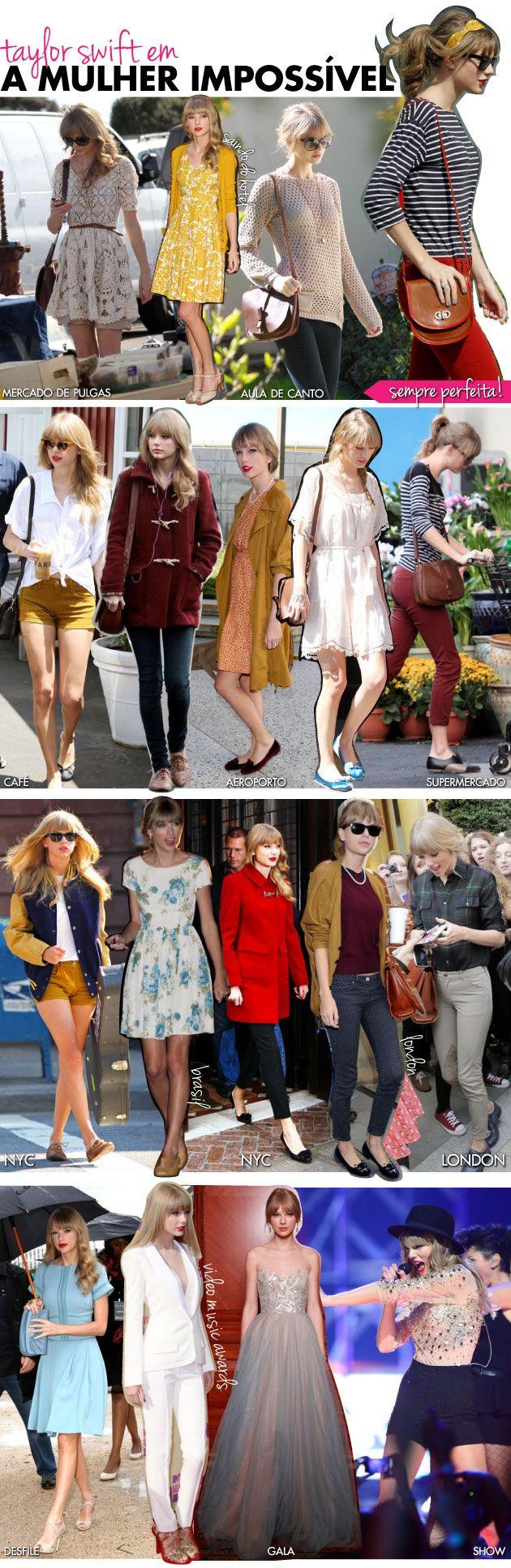 taylor-swift-mulher-impossivel-perfeita-street-style-looks-estilo-dia-a-dia-retro-cabelo-make