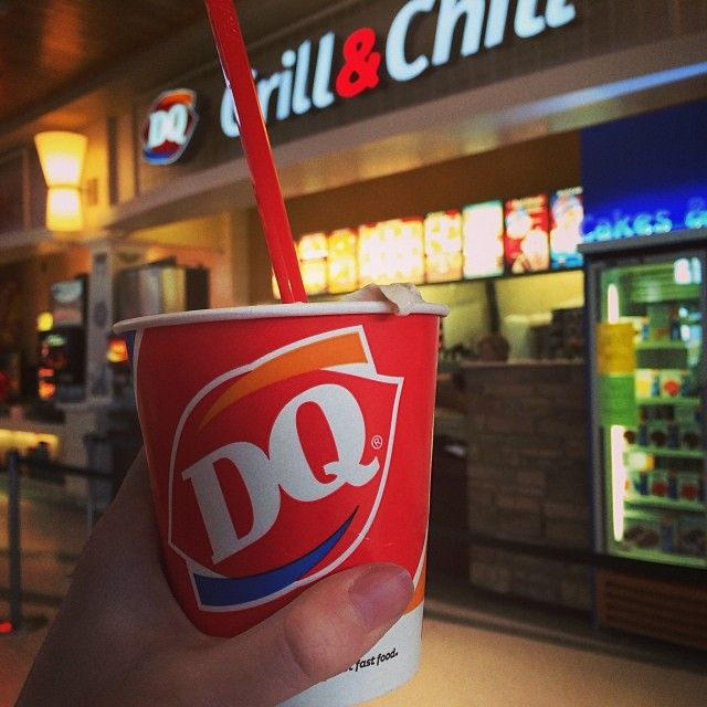 We all scream for ice cream! Which DQ blizzard flavor do you savor? #westacresmall #foodcourt