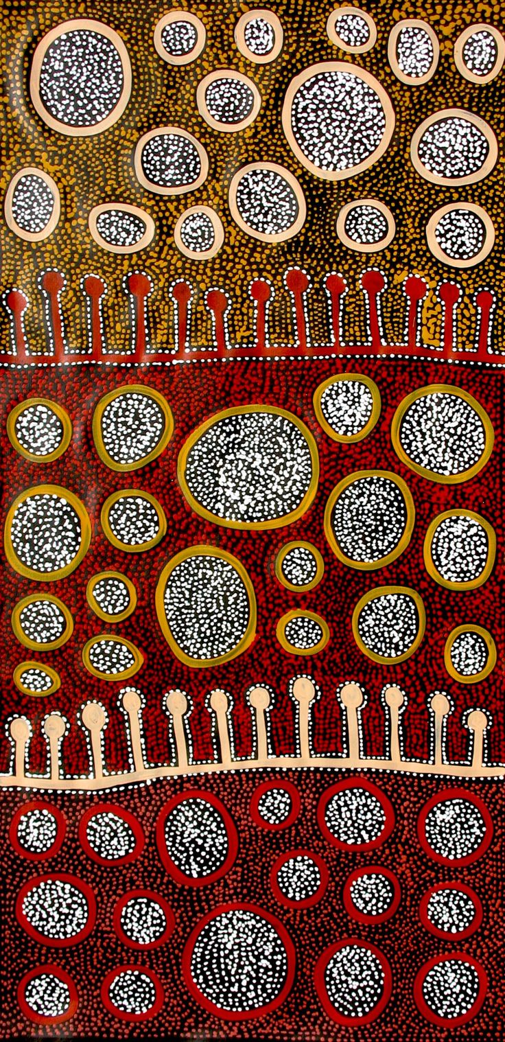 Aboriginal Artwork by Raelene Stevens. Sold through Coolabah Art on eBay. Cataogue ID 10267