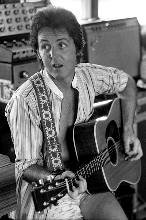 Paul ~ photo by renowned music photographer Henry Diltz who has taken photos of rock 'n' roll's most famous stars since the 1960s.