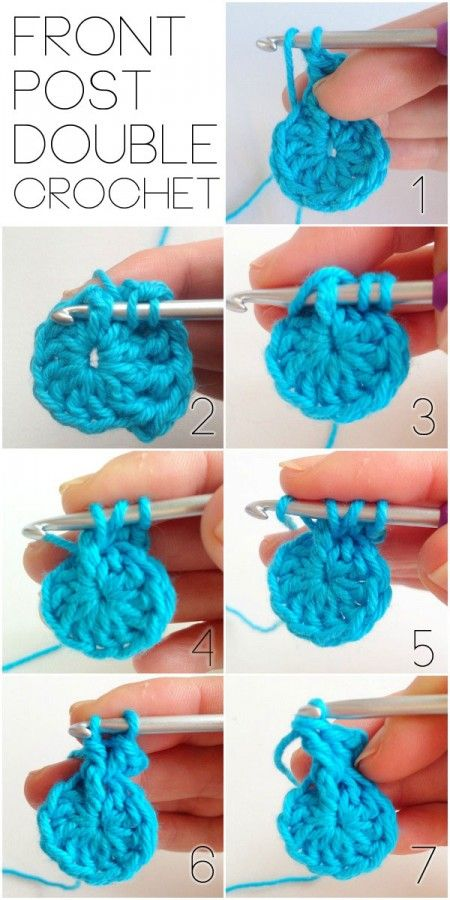 How to FPDC in the Round via @Cintia MyPoppet #crochet ༺✿ƬⱤღ  http://www.pinterest.com/teretegui/✿༻