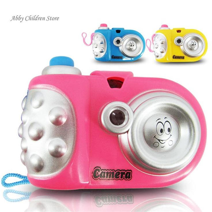 Toy Camera Educational Light Projection 9 Pictures Cute Infant Baby Camera Toy Christmas Birthday Gift Toy For Child Kid Baby