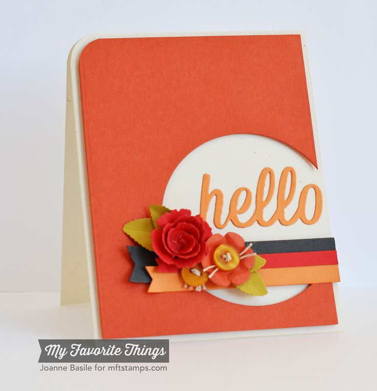 ...just a little something....: A Sunny Hello on a Snowy Day - MFT's Wednesday Stamp Club
