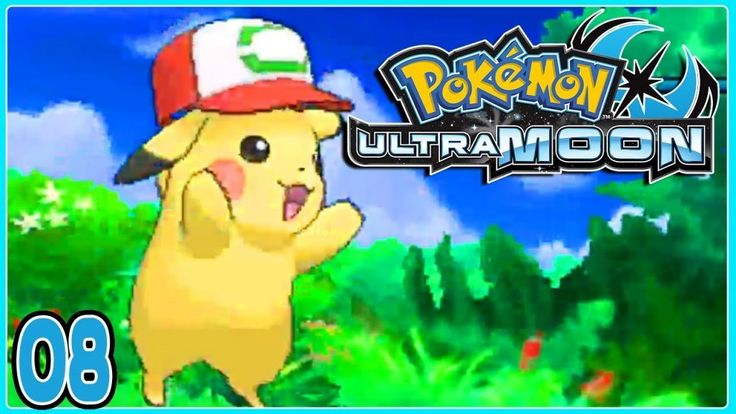 Pokemon Extremely Moon Half eight ASH HAT PIKACHU! Gameplay Walkthrough ( Pokemon Extremely Solar & Extremely Moon )