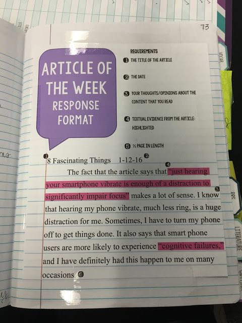 Interactive Notebooks: Informational Texts (Simply Secondary)