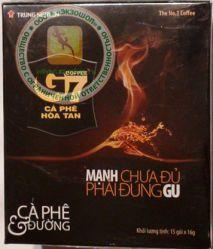 Trung Nguyen Coffee G7 - быстрорастворимый натуральный черный кофе - 240 гр.