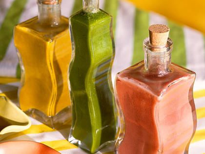 Basil Vinaigrette | Impress family and guests with these easy homemade salad dressings.