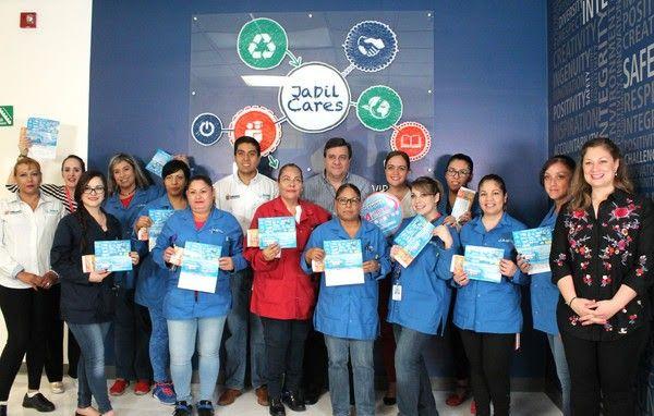 <p>Chihuahua, Chih.- El Gobierno Municipal a través del Instituto Municipal de las Mujeres acudió a las instalaciones de la maquiladora Jabil