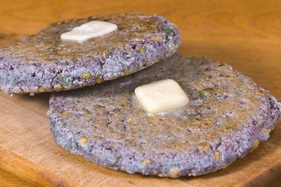 Native American Blue Corn Cakes and other blue corn recipes