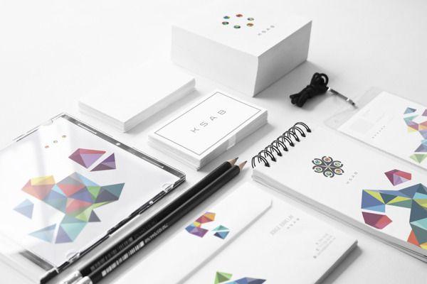 Ksab By Diego Leyva View This Project On Behance Design Graphicdesign Illustration Marketing Brand Identity Design Creative Branding Identity Design