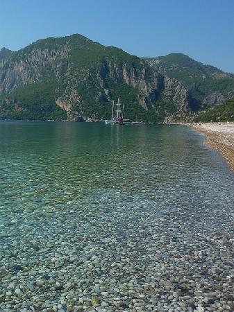 Olympos, Cirali Beach, TURKIYE