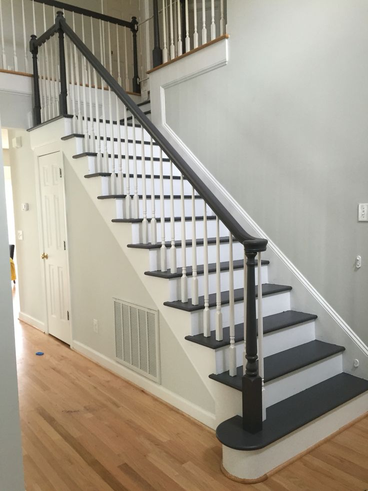 Best From Nasty Carpet To Nice Grey Stairs Sherwin Williams 400 x 300