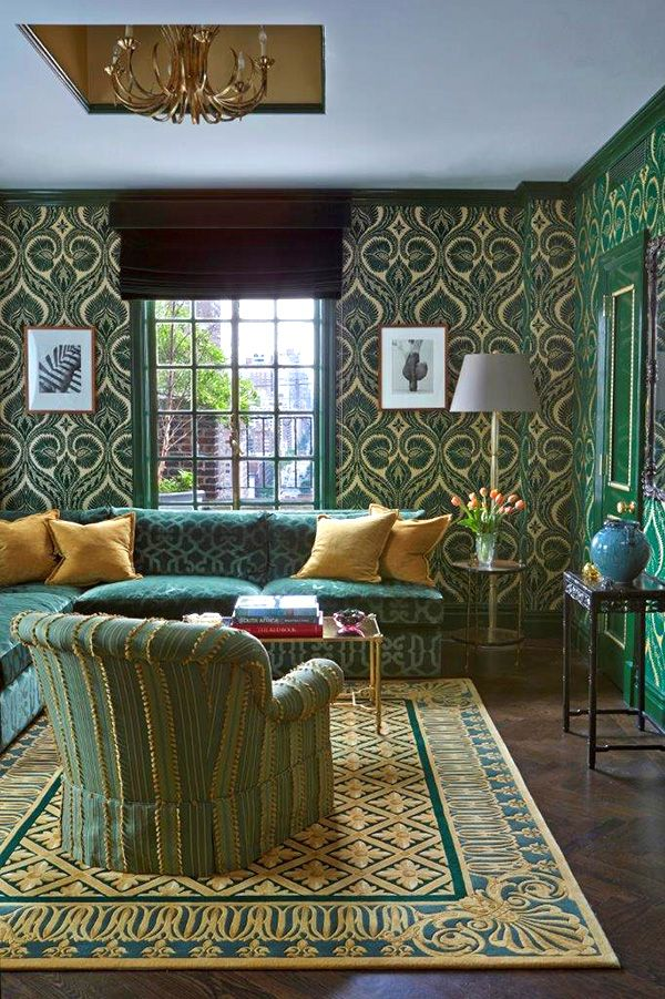 The New York decorator creates punchy, patterned, polychrome spaces that aren't just dazzling — they function supremely well.