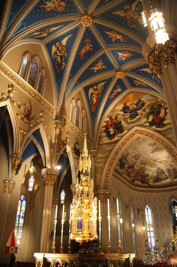 The Basilica of the Sacred Heart - University of Notre Dame, Indiana