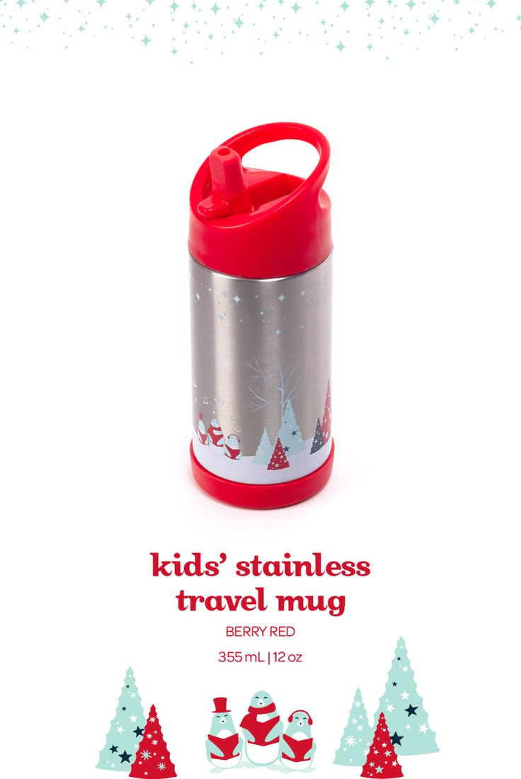 We designed this travel mug with kids in mind. It had to be fun, kid-friendly and super sturdy. And most importantly, it had to be 100% leakproof.  It's strong enough to handle the full kid treatment, and totally adorable to boot.
