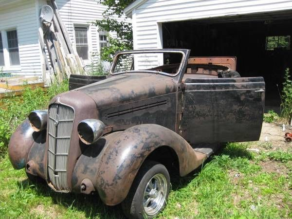 Ebay 1935 Plymouth Deluxe 1935 Plymouth Rumbleseat Convertible Project Car Rod It Or Restore It Classiccars Cars Used Cars Car Parts Classic Cars