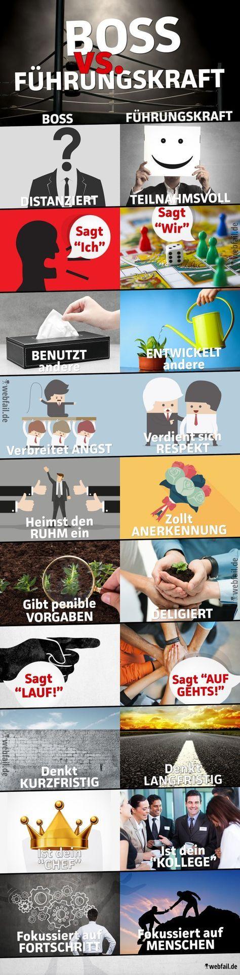 Boss vs. Führungskraft - Fact Bild | Webfail - Fail Bilder und Fail Videos ...repinned für Gewinner! - jetzt gratis Erfolgsratgeber sichern www.ratsucher.de