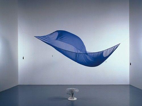 Blue Sail, Hans Haacke.
