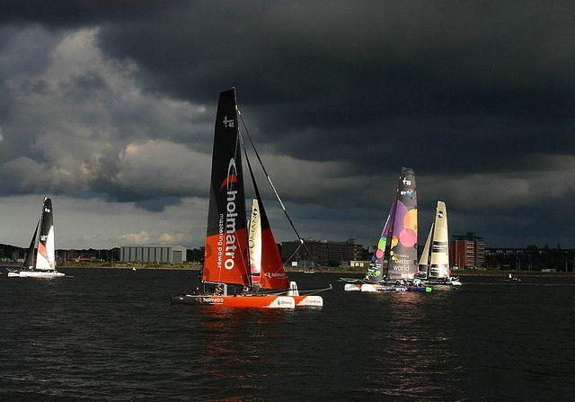https://flic.kr/p/6vBHsx   Sturm Rennen Kieler Förde   racing into the storm,  Firth of Kiel